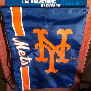 Mets drawstring backpack